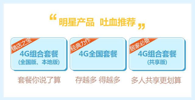 4G产品推荐