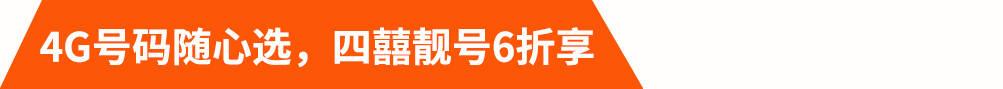 4G号码随心选