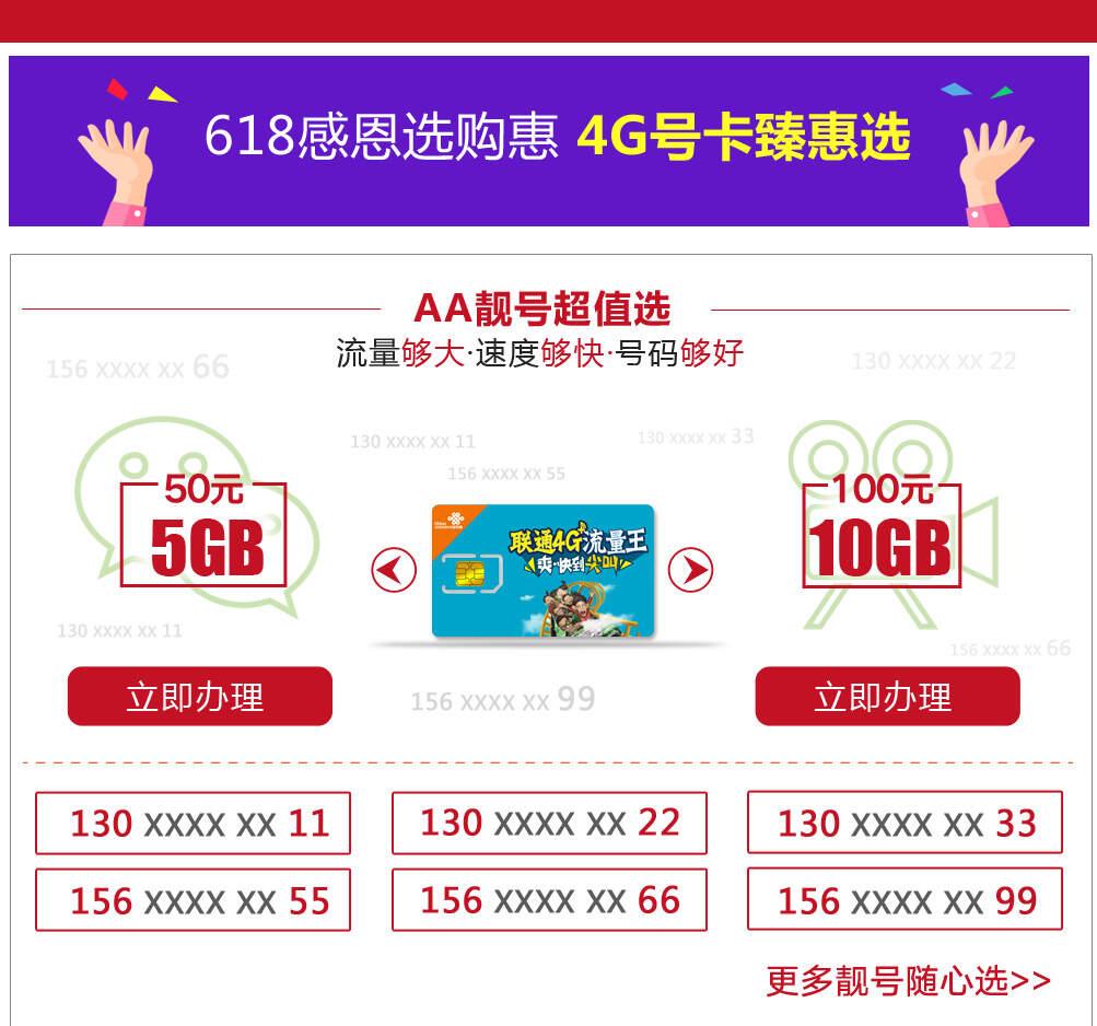 4G+流量王