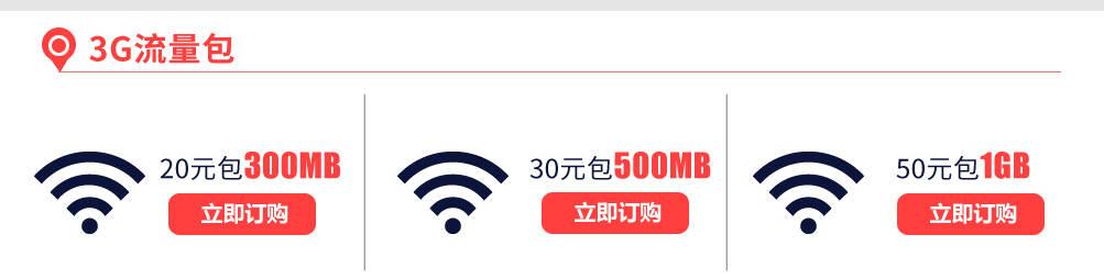 3G流量包