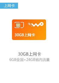 30G上网卡
