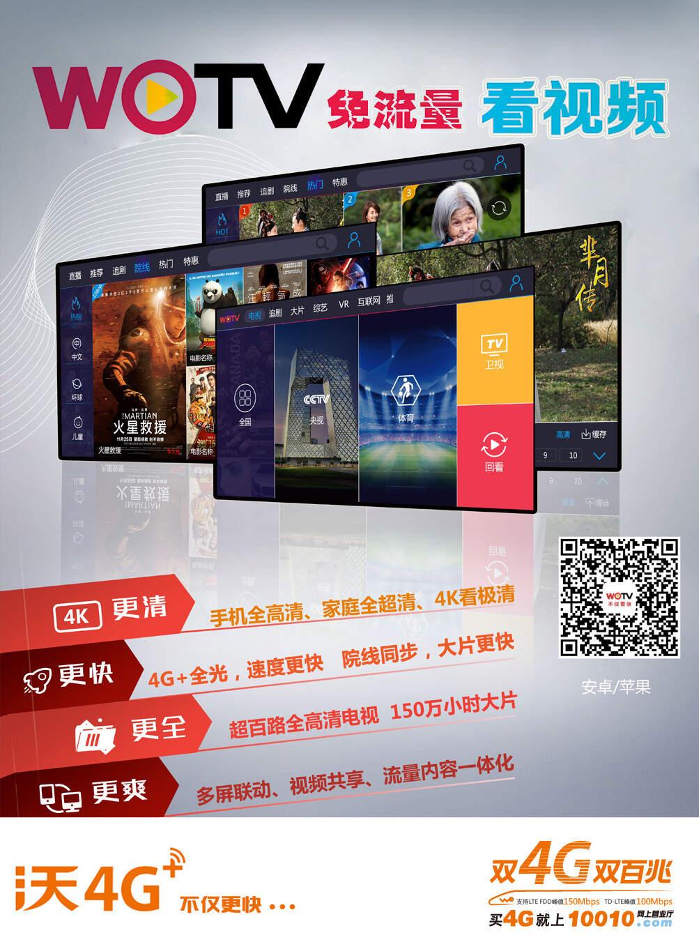 天津聯通IPTV網絡電視收視報告,點播不丟失OTT,基本覆蓋BAT