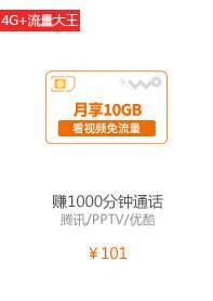 100元档流量大王