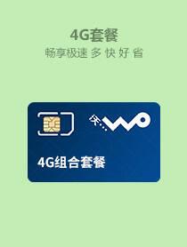 4G组合套餐全国版