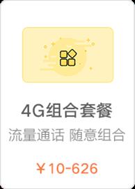 4G自由组合套餐