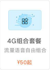 4G组合套餐