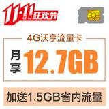 【4G沃享流量卡】 限量发行1000张