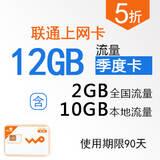 沃3G季度上网卡快卡(大卡)WK0001