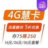 4G慧卡套餐