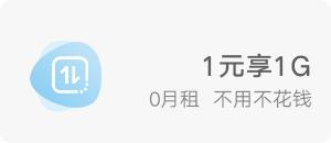 1元日租卡