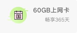 60GB上网卡