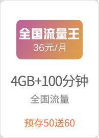 4G全国流量王36